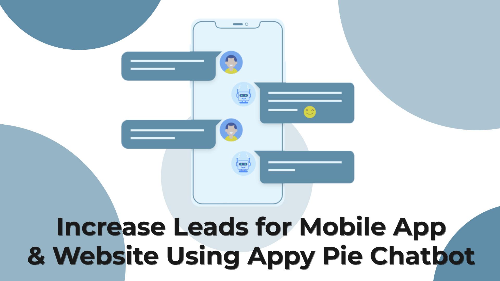 Appy Pie Chatbot Builder