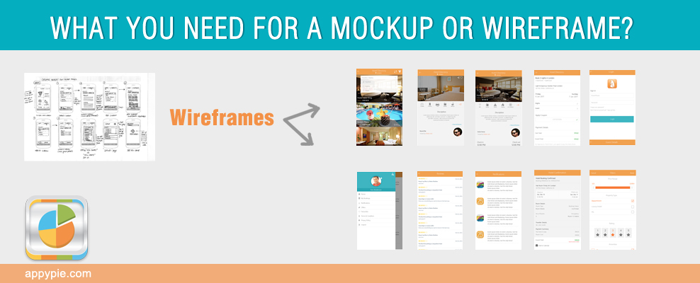What You Need for a Mockup or Wireframe?