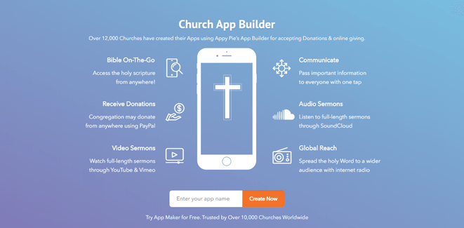 Church App Builder | How to Create a Church App for Free