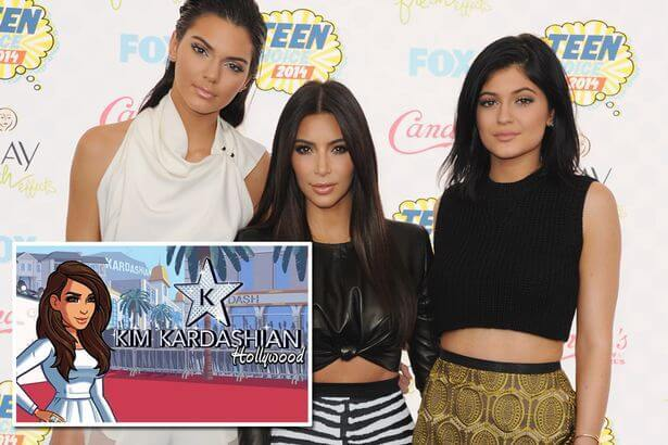 Kylie and Kendall Jenner to release mobile game - following multi-million dollar success of big sister Kim's app