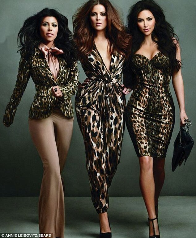 The Kardashian sisters sizzle in lingerie for clothing line campaign... shot by famed photographer Annie Leibovitz