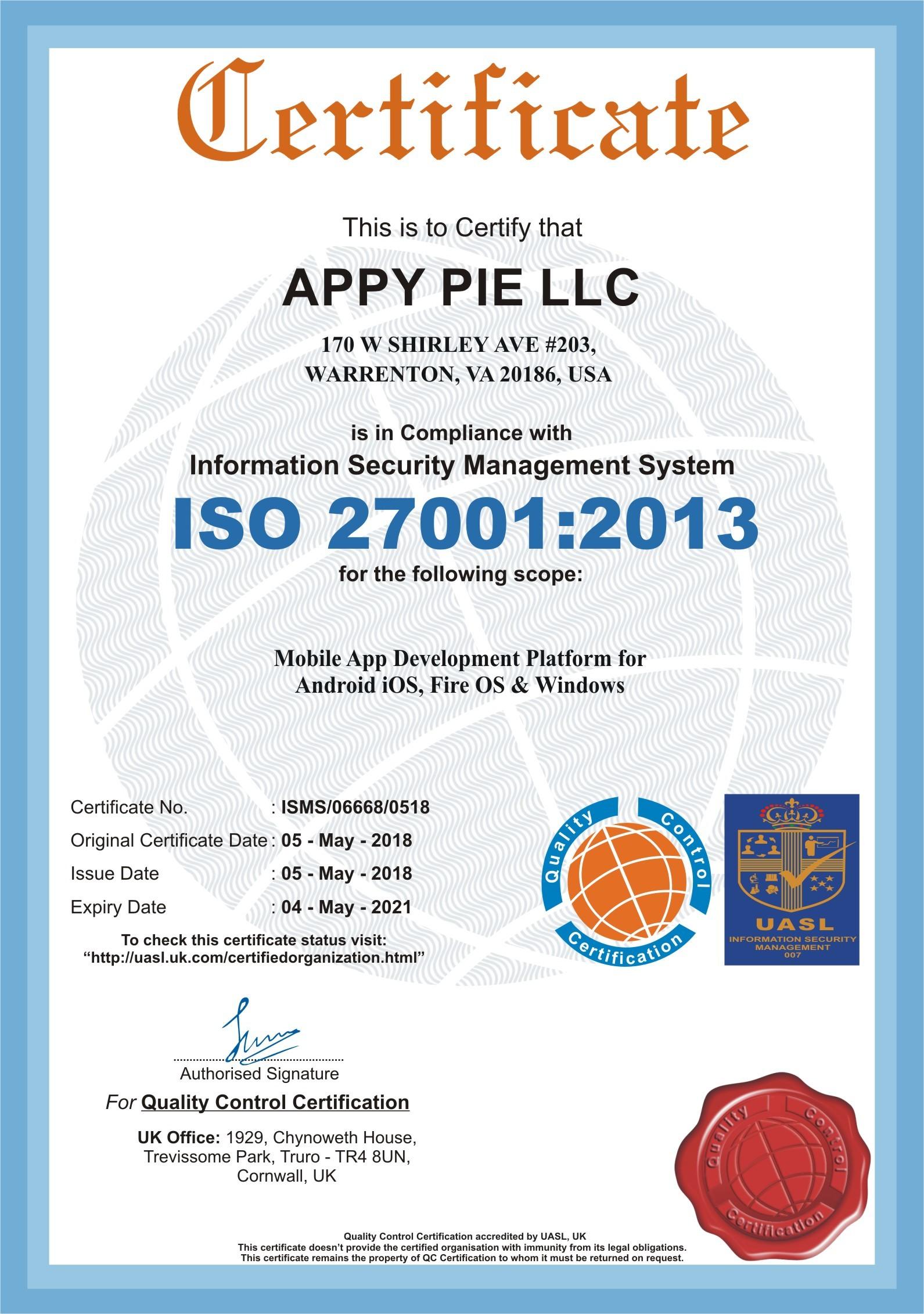 Appy Pie LLC