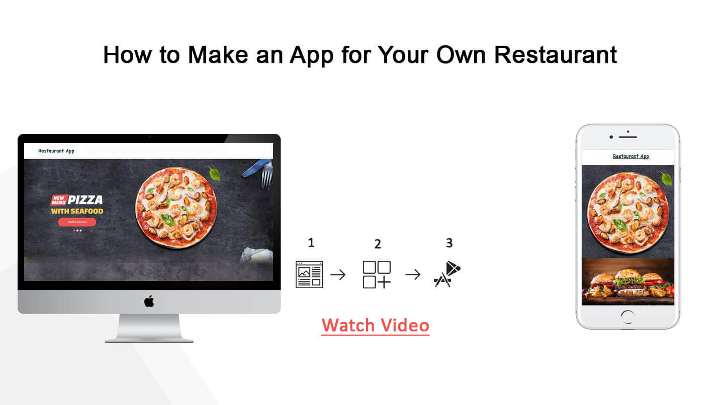 restaurant app builder how to create a food delivery app