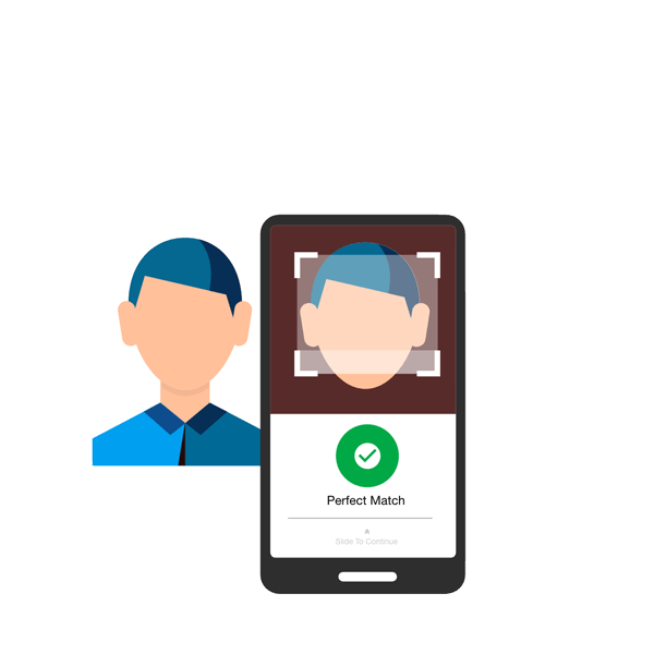 Apple's Face ID on Appy Pie Mobile Apps