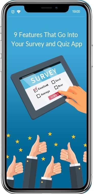 Survey App Features