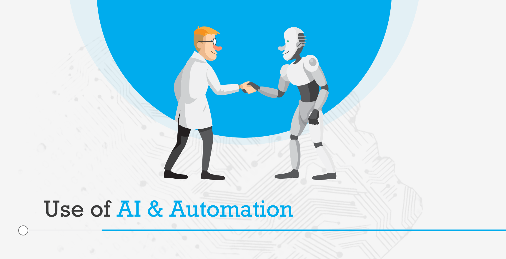 Use of AI and Automation
